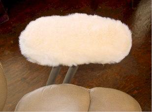 Sheespskin Office Chair Armrest Covers
