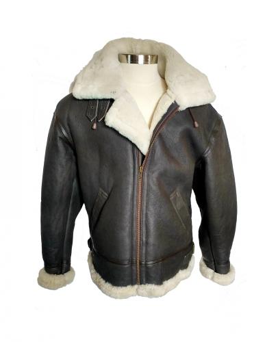 dea667305 Men's B3 Sheepskin Bomber Jacket