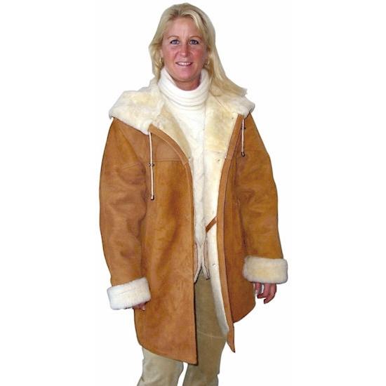 Ladies Shearling Coats: VillageShop.com