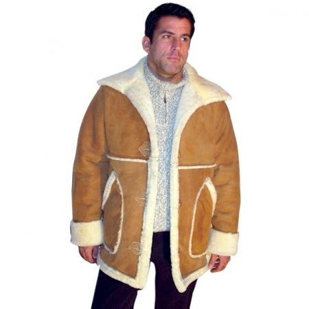 Men's Country Marlboro Sheepskin Coat