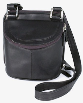 Double Take Creel Leather Purse By Latico