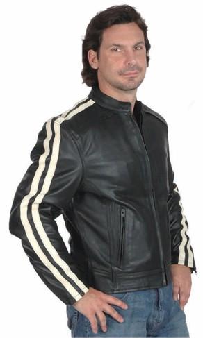 Unik Striped Sleeve Jacket From Villageshop Com