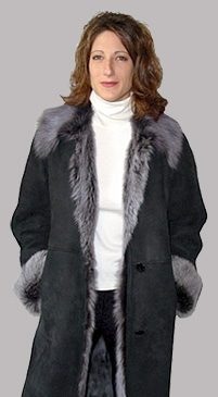 Ladiess shearling jacket