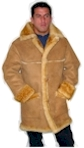 Sheepskin 3/4 Open Seam Coat