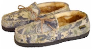 Village Shop - Camouflage Moccasin Slippers
