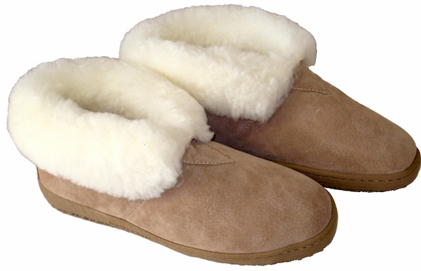 Ladies Sheepskin Bootees by Old Friend Footwear