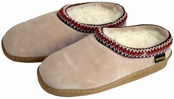 Ladies Sheepskin Clogs by Old Friend Footwear
