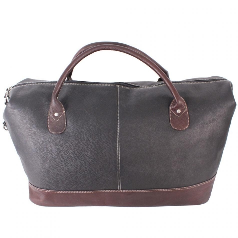 Carmel Weekender Leather Tote Bag