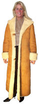 Village Shop - Full Length Hooded coat.