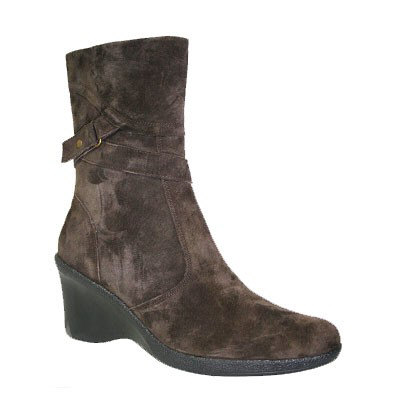 Vanna Suede Boots by Santana Canada