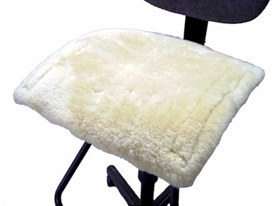 Sheepskin Office Chair Pad