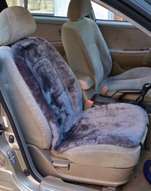 Sheepskin Cushion Seat Cover