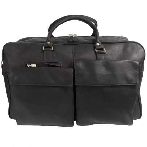 Prime Time Leather Duffel Bag