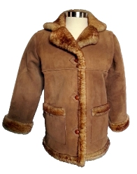 Amy Sheepskin Coat