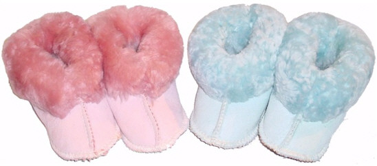 Babies Sheepskin Slippers