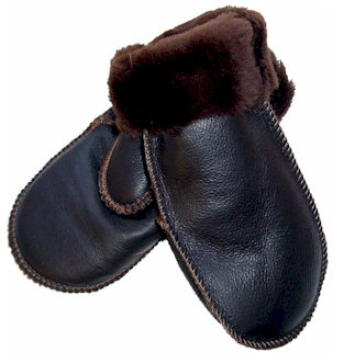 Village Shop - Nappa Sheepskin Mittens