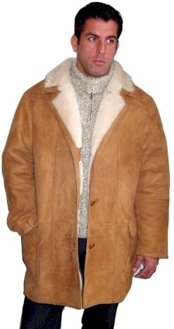 Classic 3 4 Men s Shearling Coats from VillageShop.com 5f633c2ea