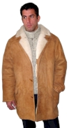 Sheepskin Classic Men's 3/4 Coat