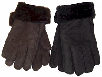 Sheepskin gloves / Shearling gloves