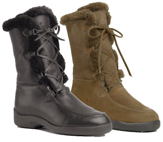 Edna Sheepskin Boot by Santana Canada