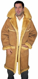 Men's Sheepskin Coats, Open Seam form VillageShop.com