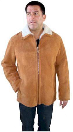 Men's Icelandic Shearling Jacket From VillageShop.com