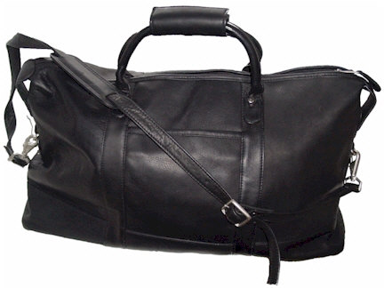 Leisure Time Leather Duffel Bag