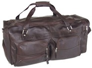 The Viking Leather Duffel Bag