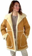 Ladies Sheepskin Marlboro Coat