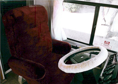 Tailor Made Motor Home Sheepskin Seat Covers