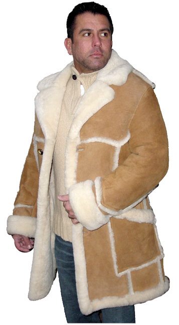 4b441dc29b Men s Open Seam Marlboro Sheepskin Coat