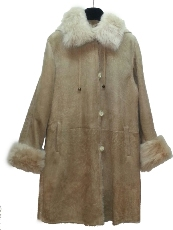 Olympic Tan Shearilng Coat