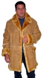 Sheepskin Open Seam Marlboro Coat