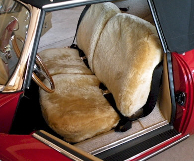 Sheepskin Bench Seat Covers