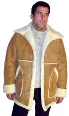Mens' Country Marlboro Sheepskin Coat