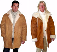Shearling Coats Sheepskin Jackets from VillageShop.com