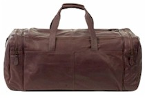 Travulocity Leather Duffel Bag by Latico