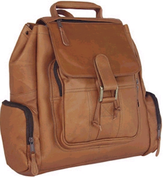 Top Gun Leather Backpack