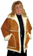 Ladies 3/4 Sheepskin Coat