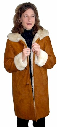 Spanish Merino Shearling Coat