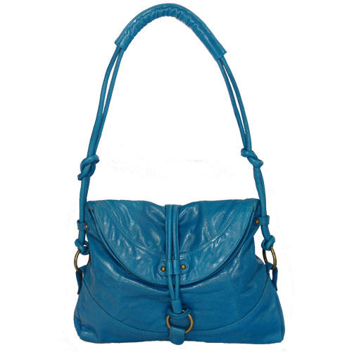 Mimi front flap shoulder bag by Latico Leathers