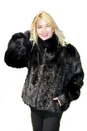 Mink Coats and Beaver Coats from VillageShop.com