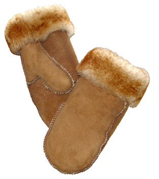 Village Shop - Sheepskin Mittens