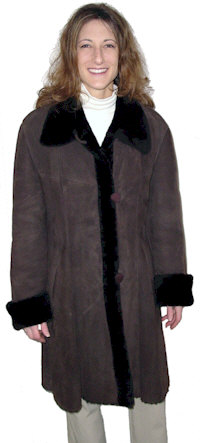 Tracy Shearling Coat