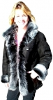 Ladies Tuscany Shearling Coat
