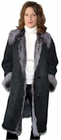 Long Hair Tuscany Shearling Coat