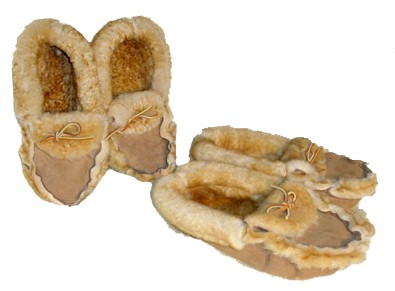 Woolie Womper Sheepskin Slippers